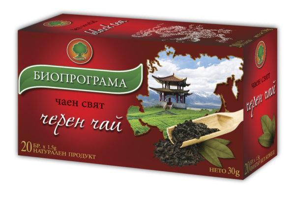 Черен чай филтър 20 бр. Биопрограма